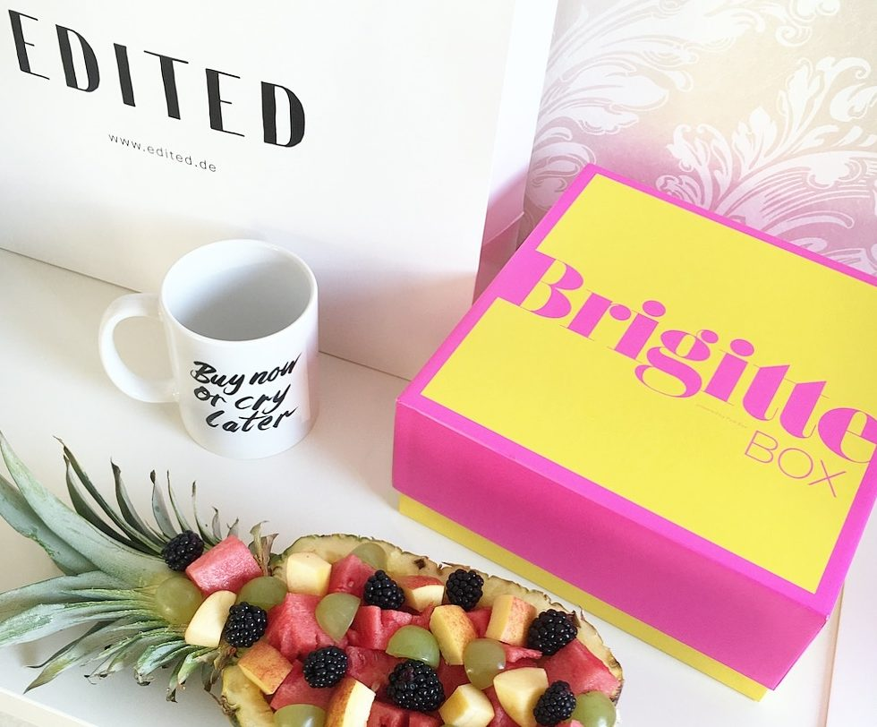 BRIGITTE BOX – UNBOXING
