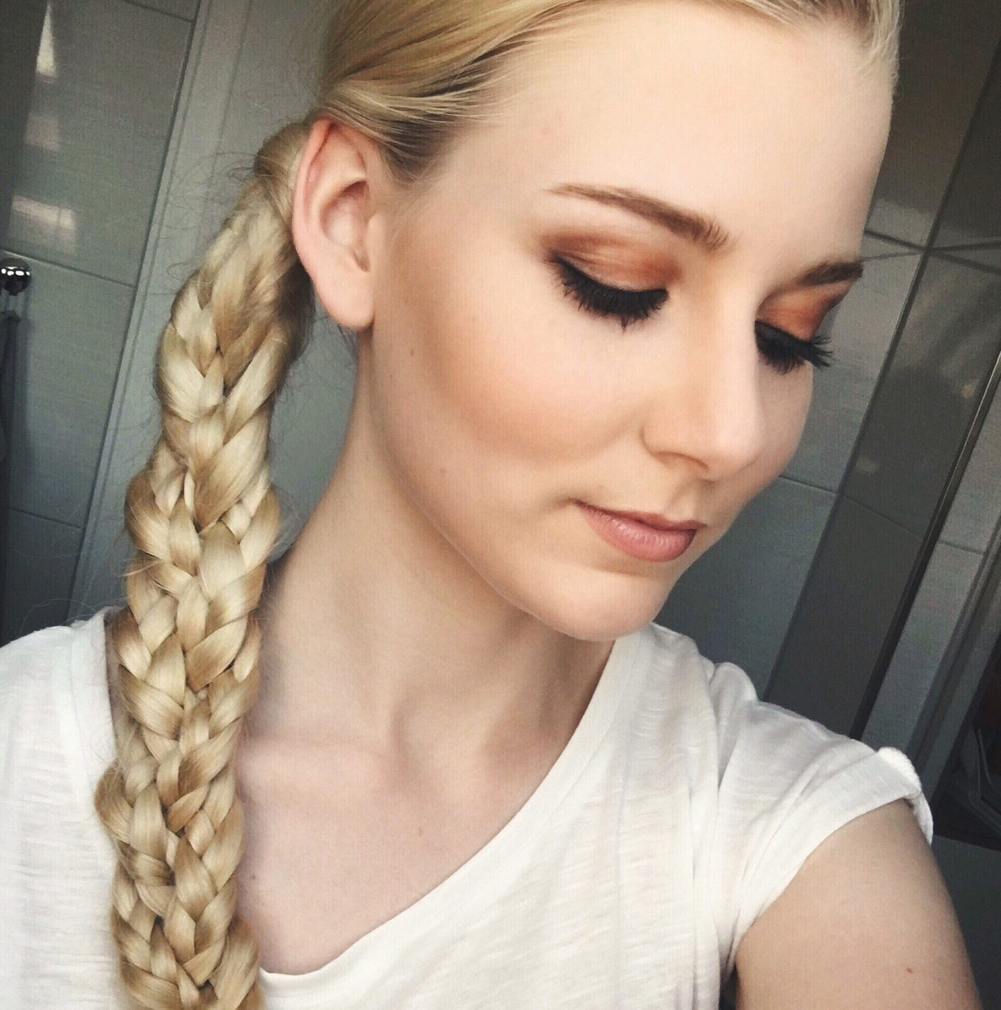 SIMPLE SPRING BRAID IN 5 MINUTES 🌸