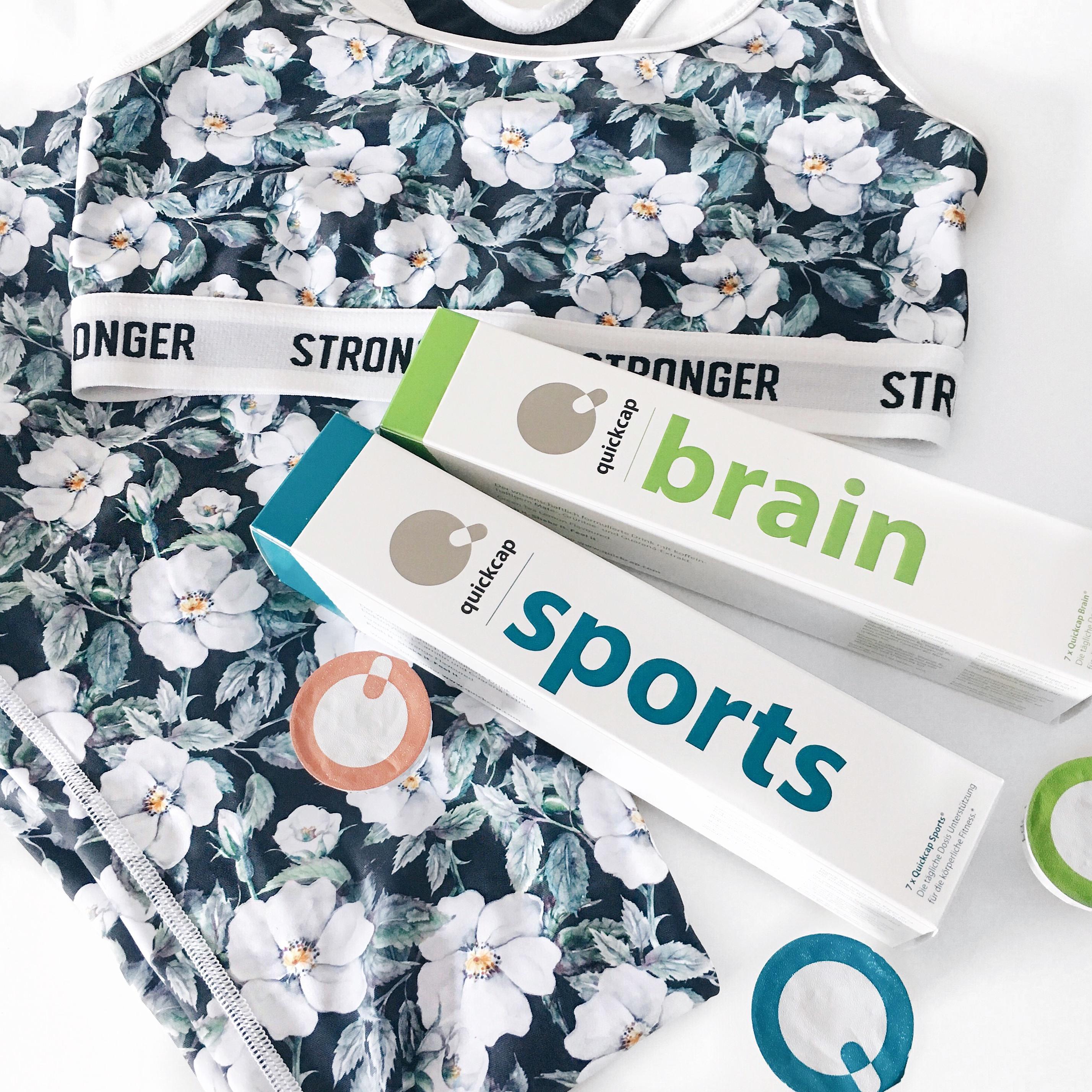 sportkleidung von stornger und quickcaps in brain und sports