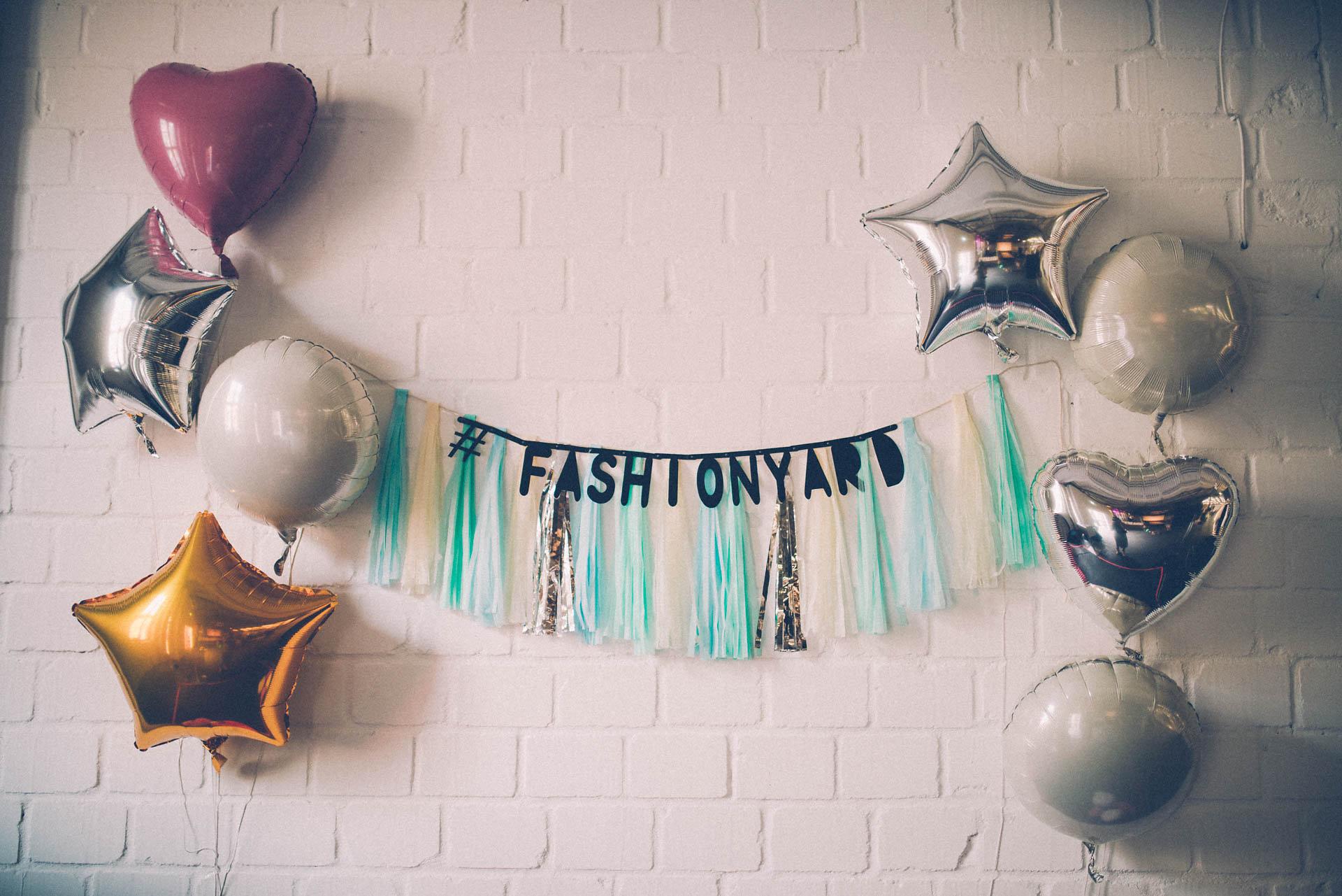 fashionyard dekoration auf dem duesseldorfer blogger event